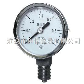 HX-Y-B-不銹鋼壓力表