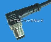 M12连接器/M12接头-针式弯头