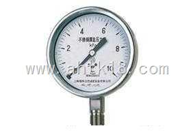 YE-100B/150B系列不锈钢膜盒压力表