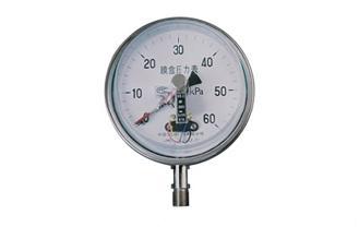 YEX-B系列不銹鋼膜盒電接點壓力表