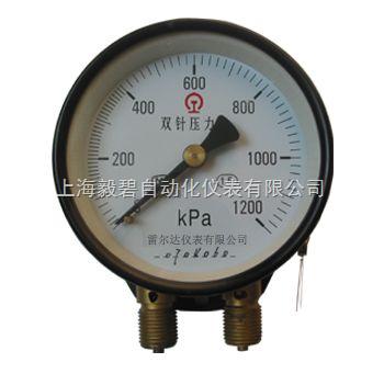 YZS-102雙針雙管壓力表