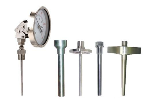 热套式万向型双金属温度计