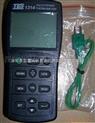 TES1314臺灣泰仕數字溫度計TES-1314雙道通高精度溫度表TES 1314