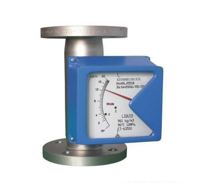 液晶指示型金属管浮子流量计
