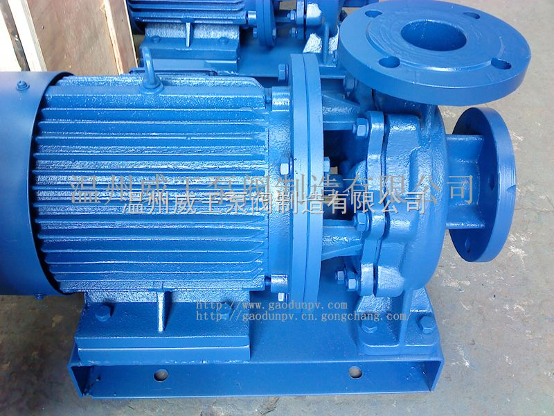 ISW200-400-專產不銹鋼管道泵