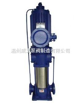 立式PBL系列屏蔽多级离心泵生产厂家,价格,结构图