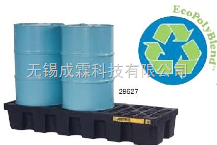 JUSTRITE美国原装进口,耐酸碱控泄盘,用于液体仓库,化学品仓库