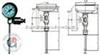 带热电偶/热电阻双金属温度计