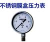YE-150B,不鏽鋼膜盒壓力表
